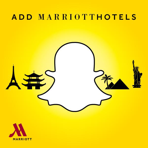 Marriott Hotels Snapchat
