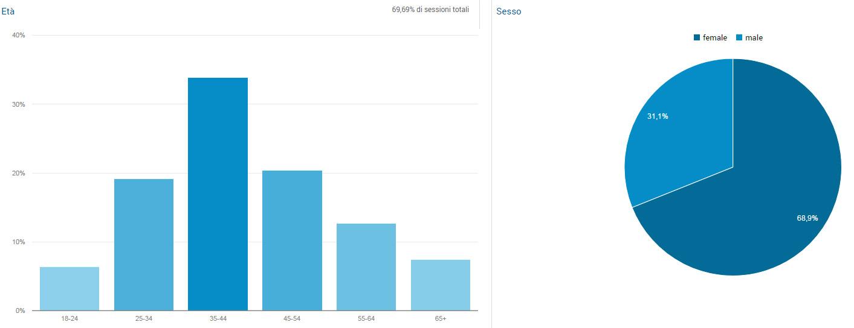 Dati demografici sui visitatori