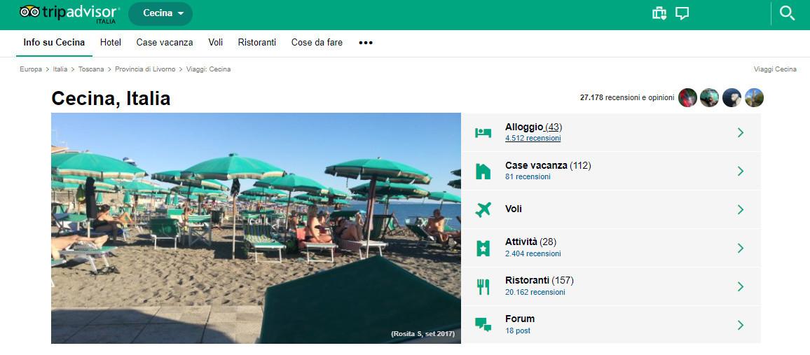Tripadvisor aggiorna il suo algoritmo e l ordinamento delle strutture ricettive web marketing - Diversi tipi di turismo ...