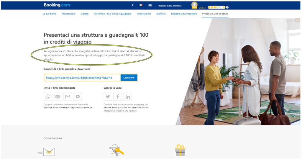 Booking.com Presentaci una struttura